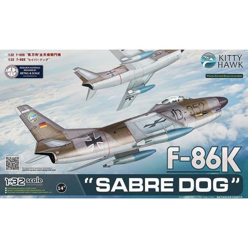 Истребитель F-86K