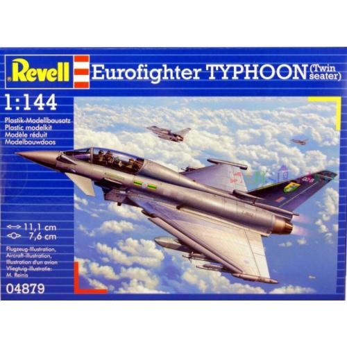 Истребитель Еврофайтер Тайфун двухместный 1:144