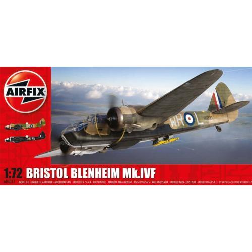 Бомбардировщик Bristol Blenheim Mk IVF 1:72