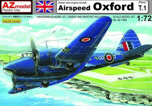 Самолет Airspeed Oxford T.1 1:72
