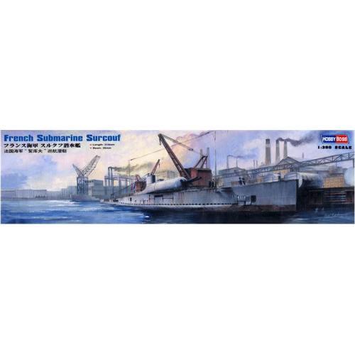 Французская подводная лодка Сюркуф 1:350