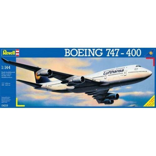 Самолет Боинг 747-400 'Люфтганза' 1:144