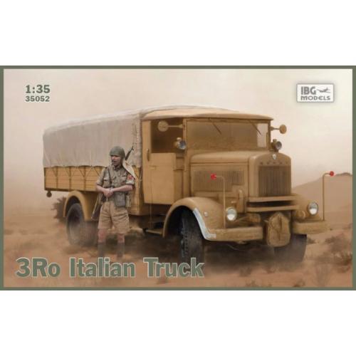 Итальянский военный грузовик 3Ro