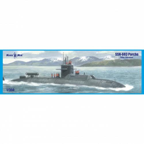 Американская атомная подводная лодка SSN-683 Parche (поздняя версия)