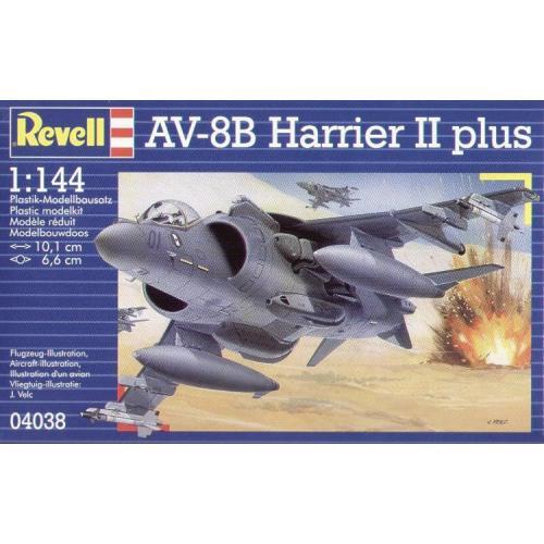 Штурмовик AV-8B Harrier II plus 1:144