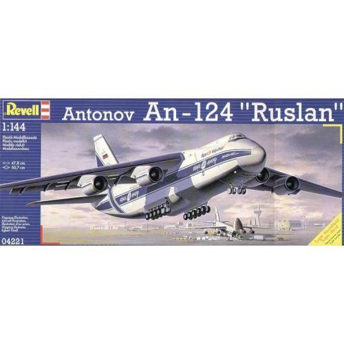 Транспортный самолёт Ан-124 «Руслан» 1:144