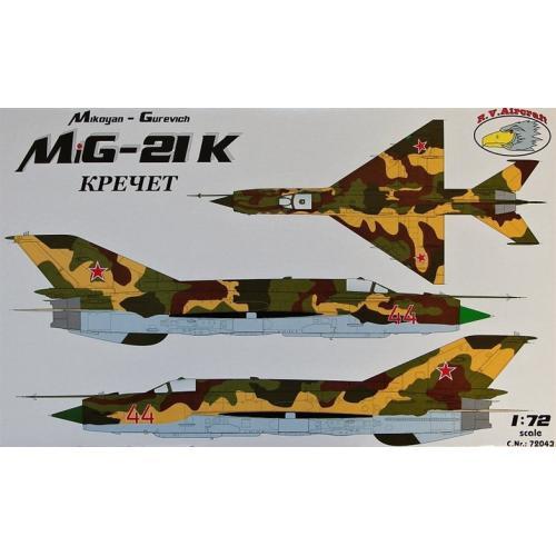 Истребитель Миг-21К