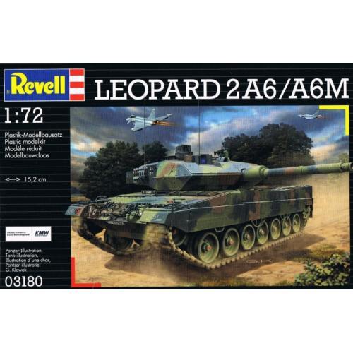 Танк Leopard 2 A6M 1:72
