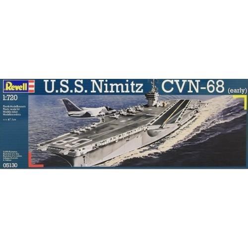 Авианосец Nimitz CVN-68, ранний 1:720