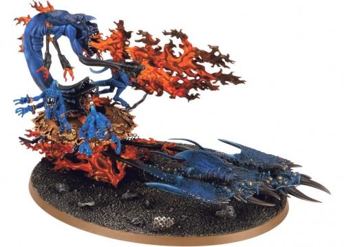 CHAOS DAEMON BURNING CHARIOT OF TZEENTCH