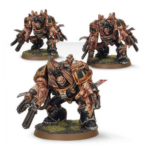 CHAOS SPACE MARINE OBLITERATORS