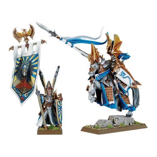 HIGH ELF PRINCE AND NOBLE