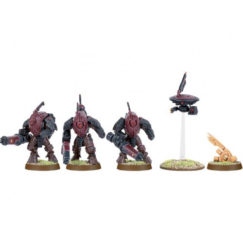 TAU XV25 STEALTH SUITS