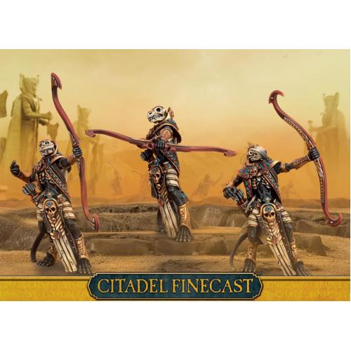 TOMB KINGS USHABTI WITH GREAT BOWS (99810217003)