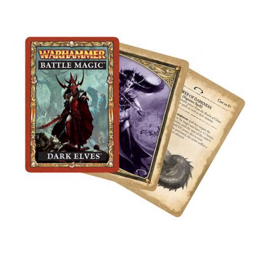 WARHAMMER BATTLE MAGIC: DARK ELVES (ENG)