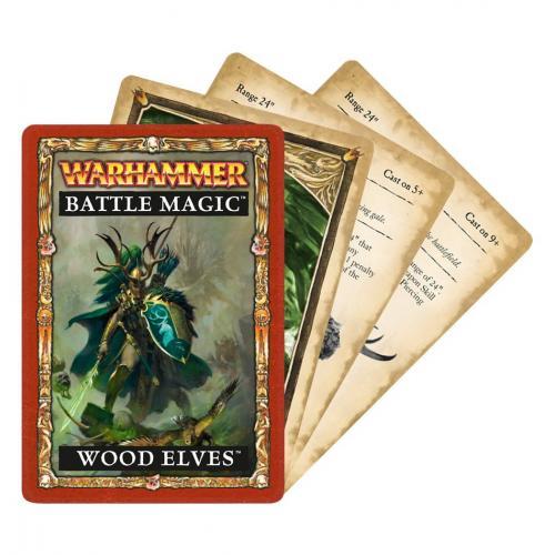 WH BATTLE MAGIC: WOOD ELVES (ENGLISH) (60220204001)