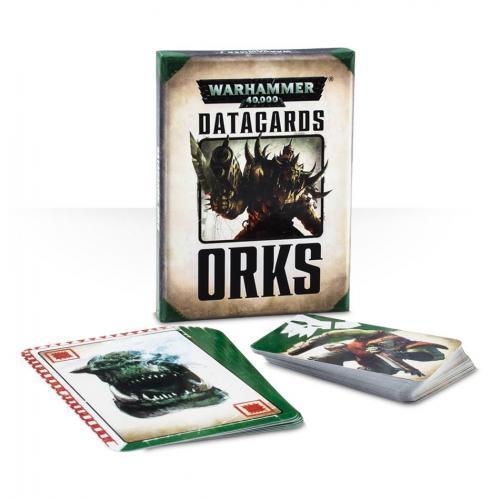 WH40K DATACARDS: ORKS (ENGLISH) (60220103001)