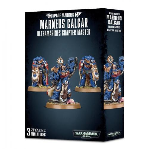 MARNEUS CALGAR: U/MARINES CHAPTER MASTER