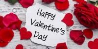 Поздравляем всех влюблённых с днём Святого Валентина!