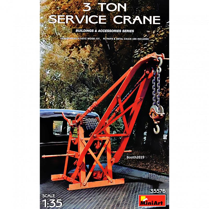MINIART 35576 3t Service Crane in 1:35